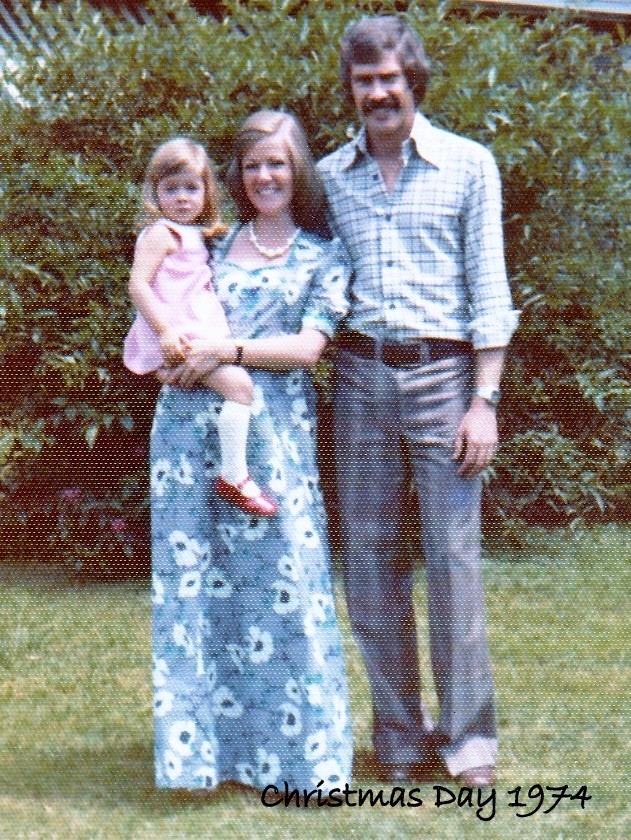 Xmas Day 1974 P,A&J