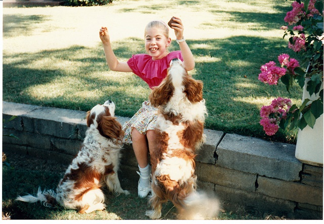 April 94 -  E and dogs