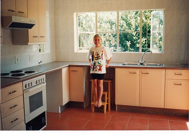 Dec 95 - New kitchen